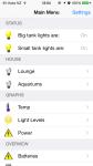 OpenHAB - Home Screen